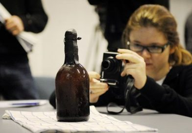 What a 170 year old beer from a shipwreck tastes like